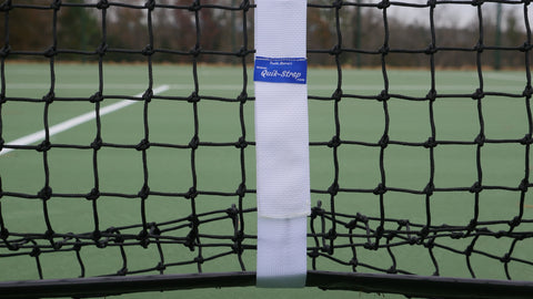 Quik-Strap for Pickleball Nets