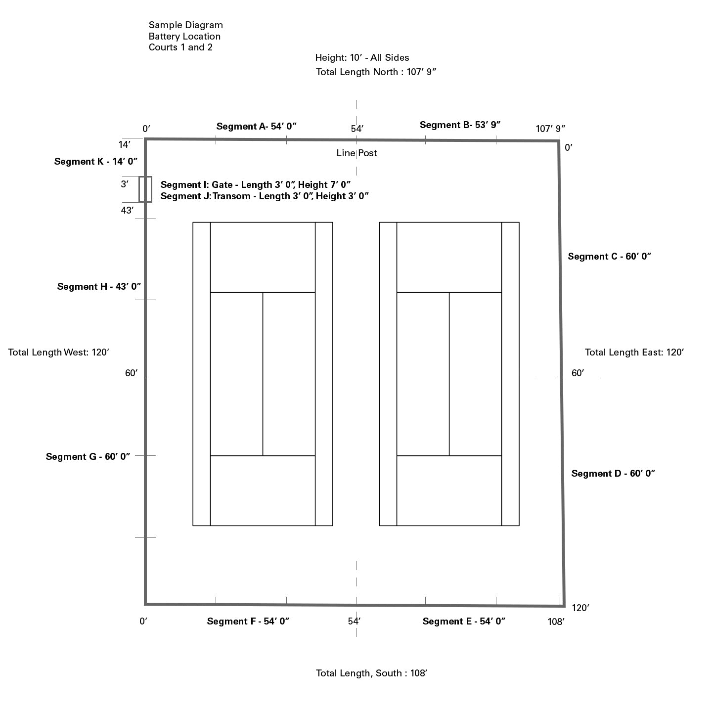 Windscreen Designer Diagram Your Court
