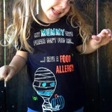 child in food allergy awareness mummy tee shirt