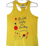 Warehouse Collection Food Allergy Alert Yellow Lady Bug Graphic Tank