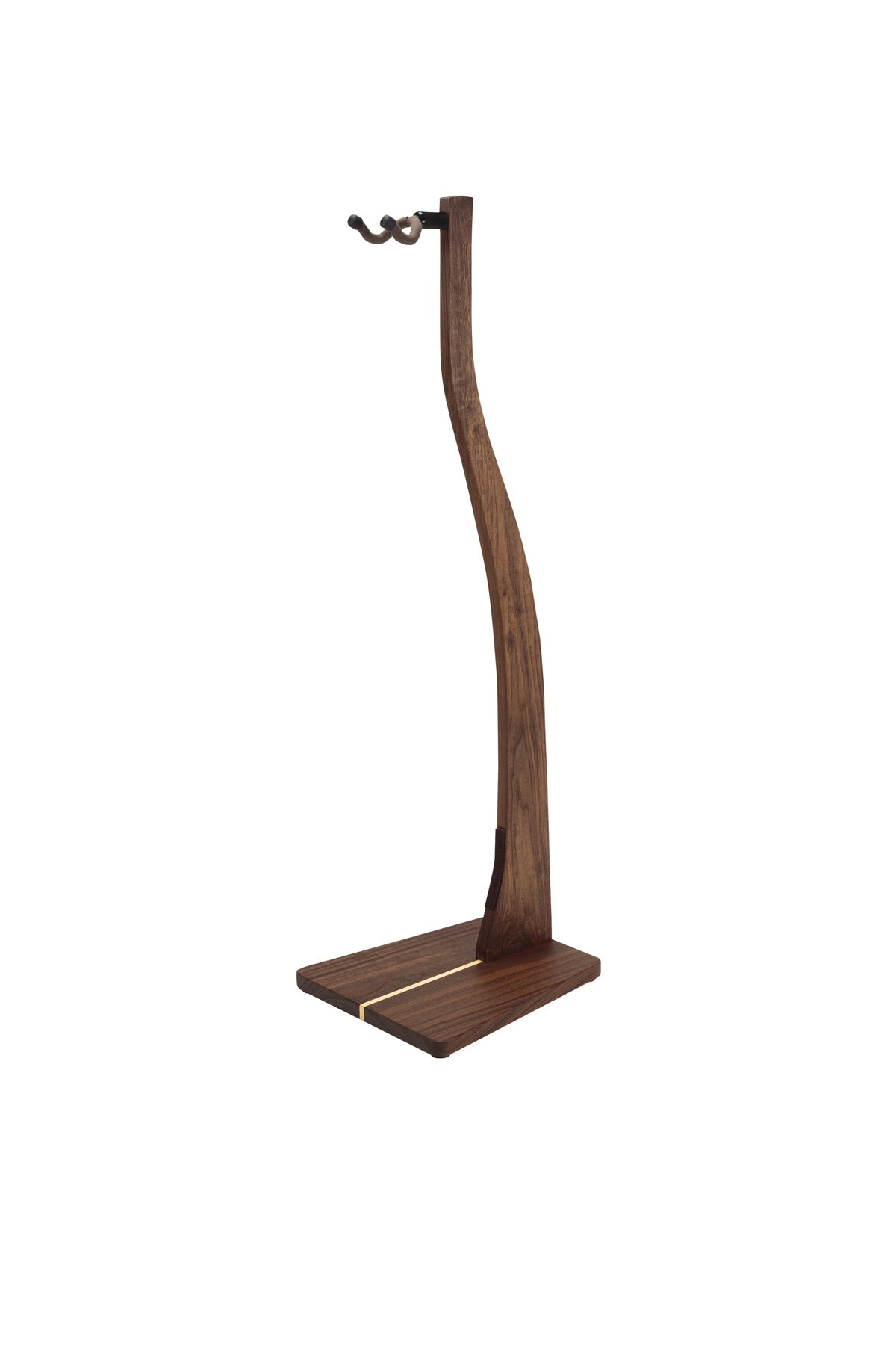 Zither Walnut Guitar Stand