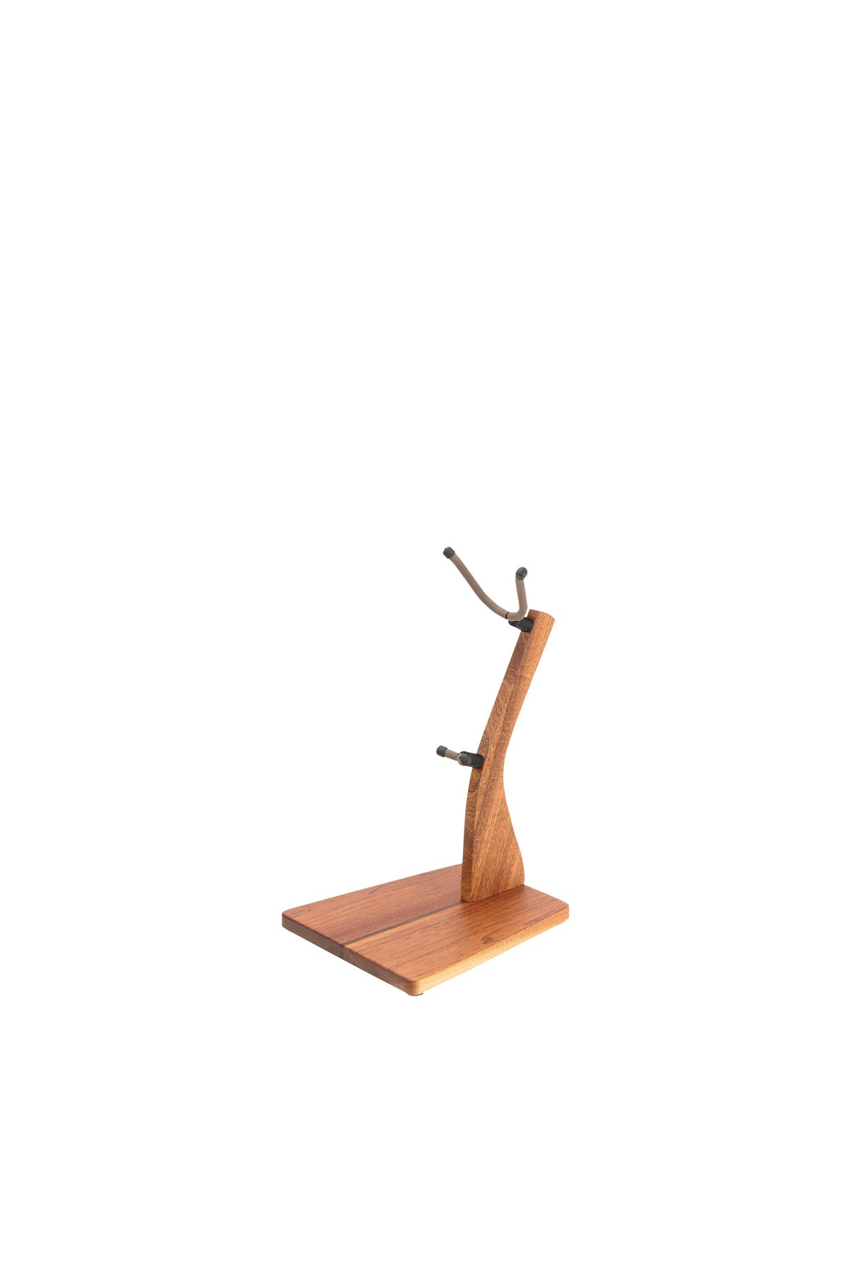 Zither Mahogany Saxophone Stand