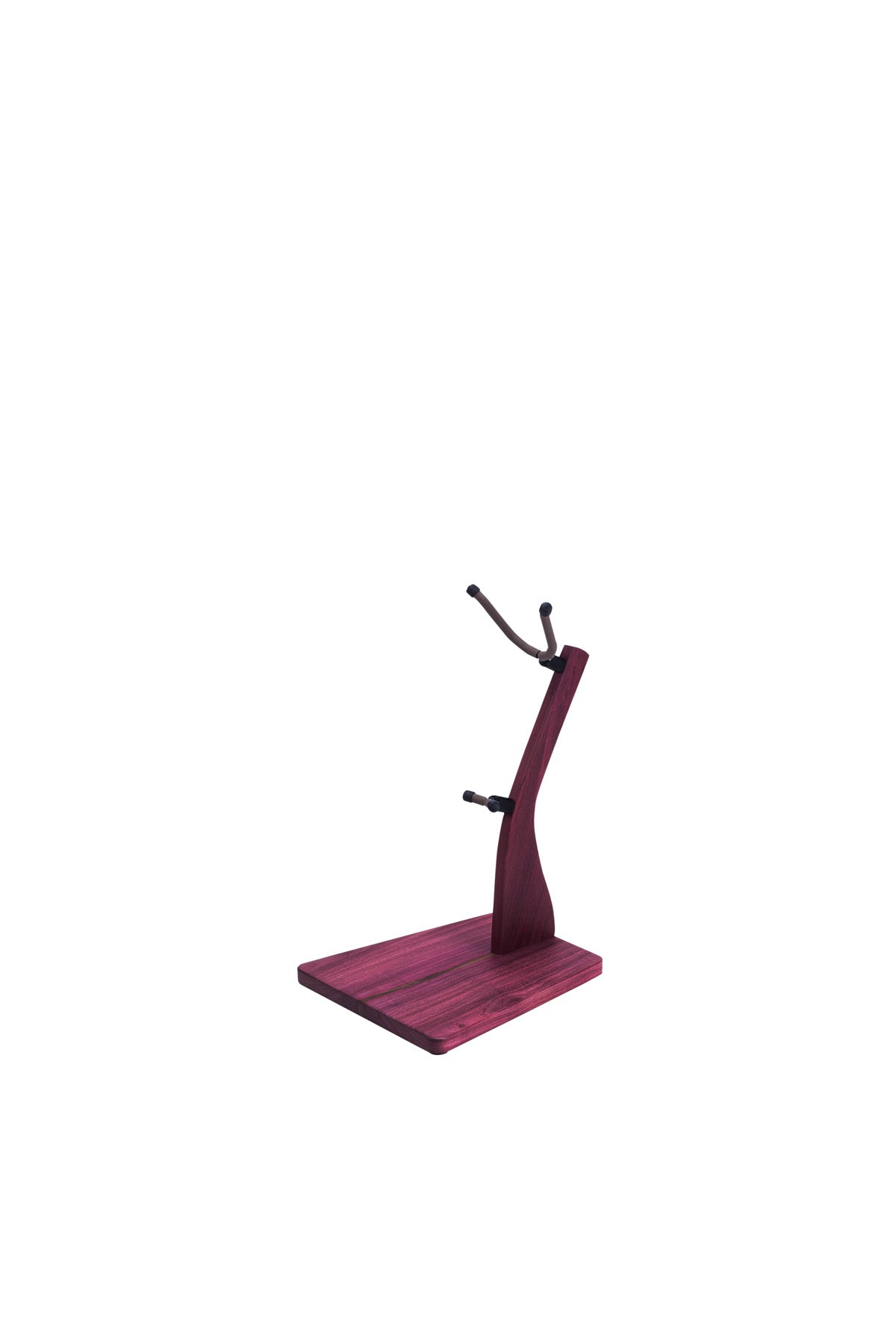 Zither Purple Heart Saxophone Stand