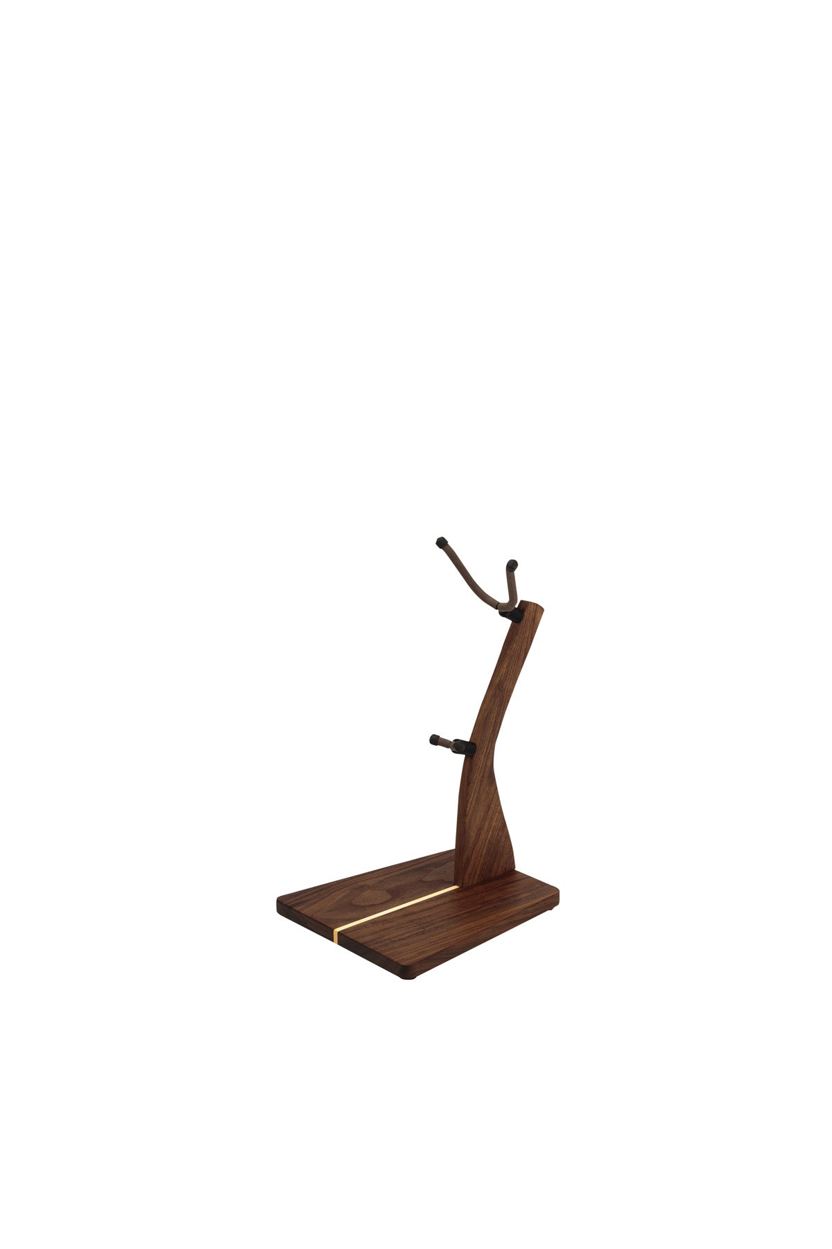 Zither Walnut Saxophone Stand
