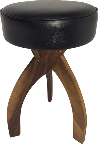 "Wooden 24"" Counter Height Stool - Handcrafted Hardwood Stool"