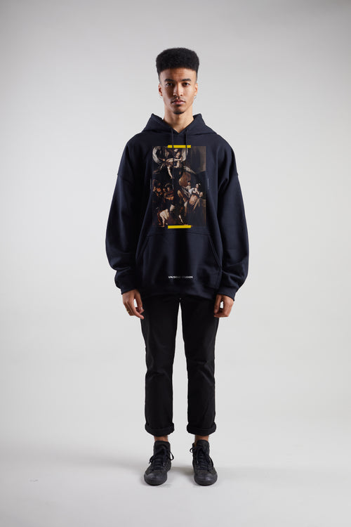 7 Acts Of Mercy Hoodie | Black