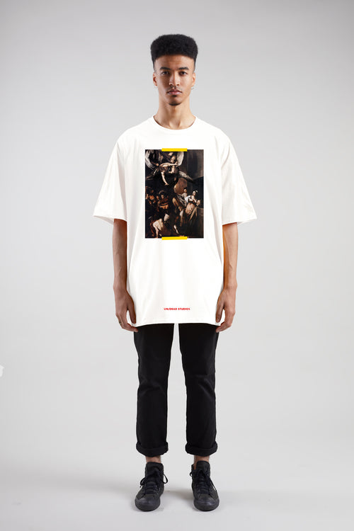 7 Acts Of Mercy Tee | White