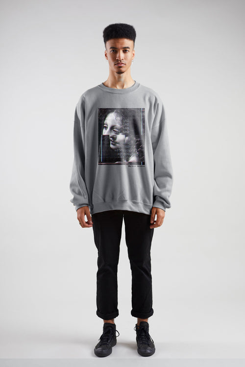 Image Glitch Sweatshirt