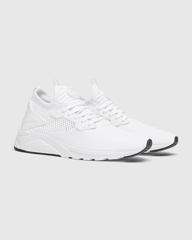 mens white trainers