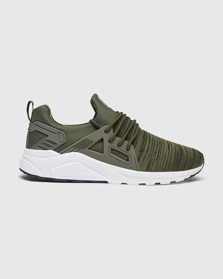 CT 8000 Mens Runner Khaki & white