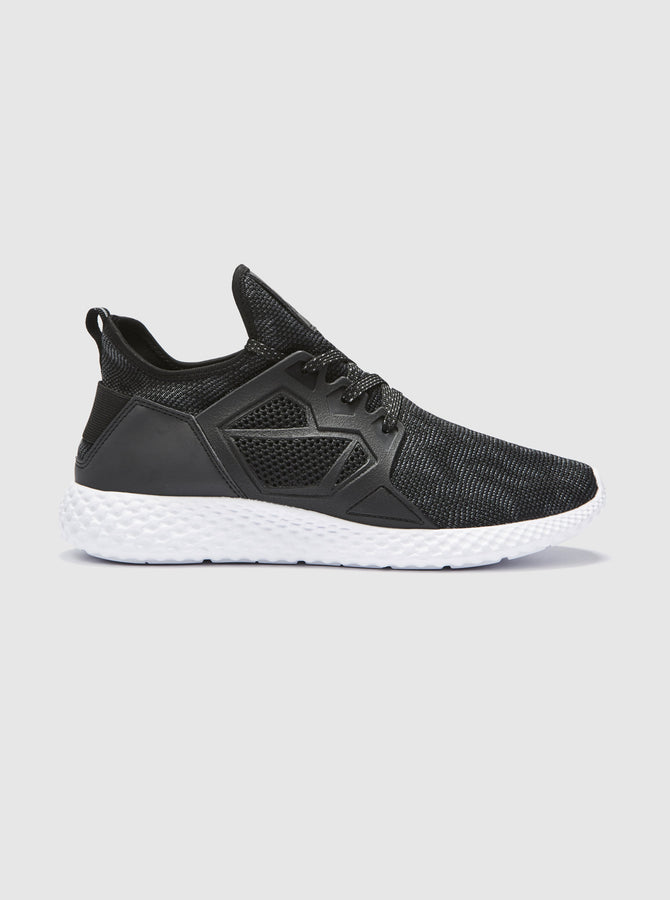 CT 1000 Mens Trainer Black-White