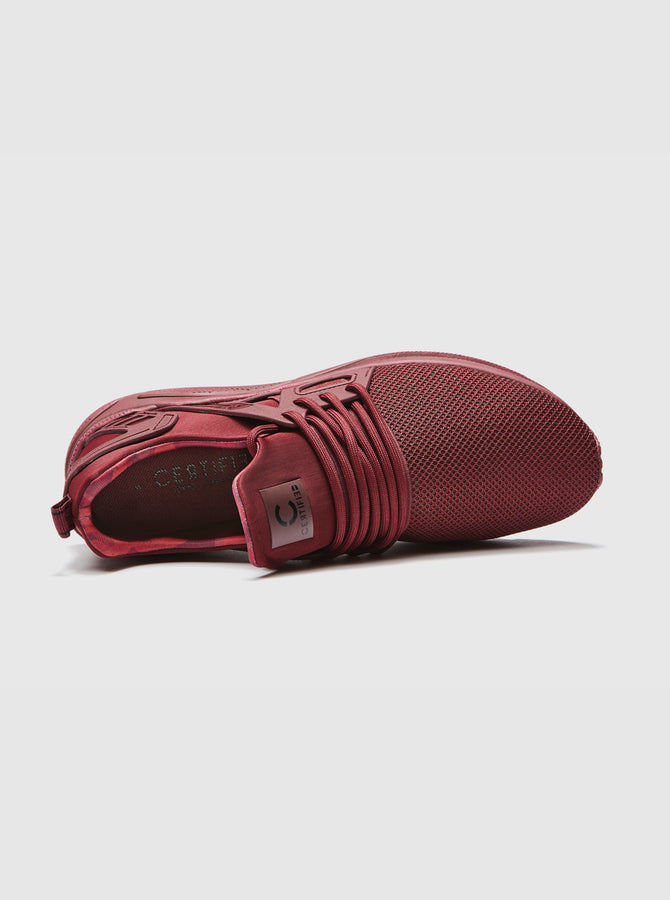 CT 8000 Mens Trainer Burgundy