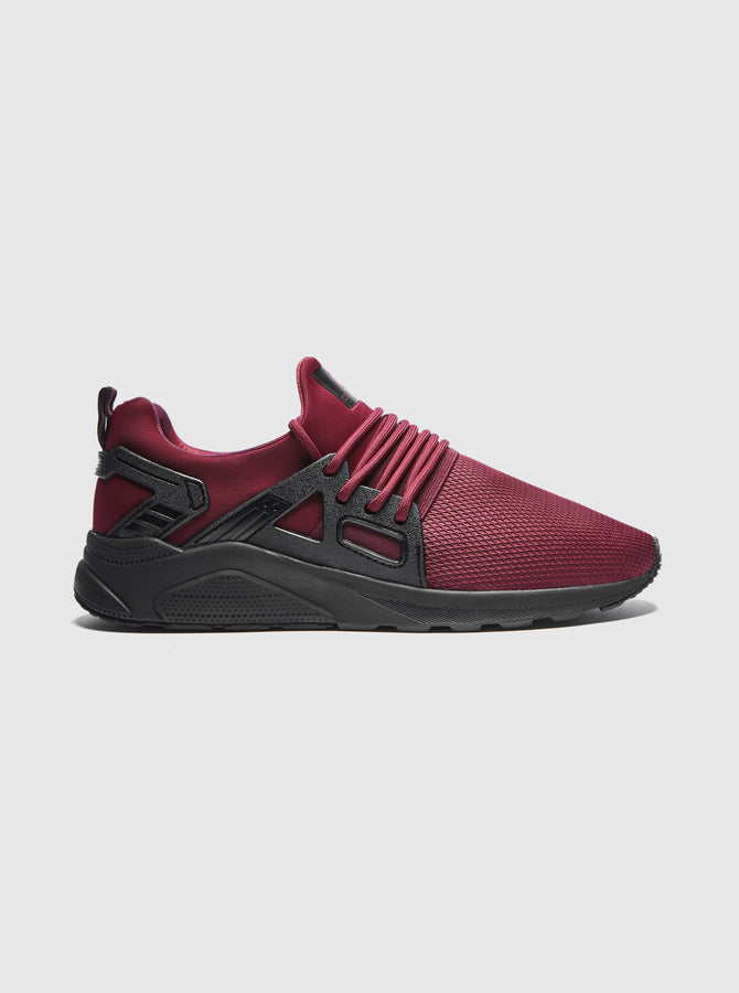 CT 8000 Mens Trainer Burgundy-Black