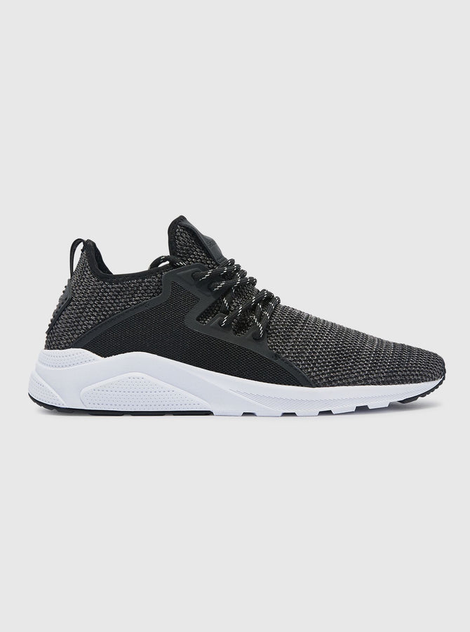 CT 762 Mens Trainer Black/White