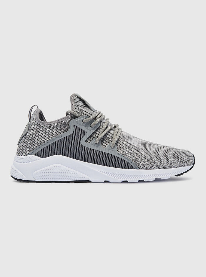 CT 762 Mens Trainer Grey/White