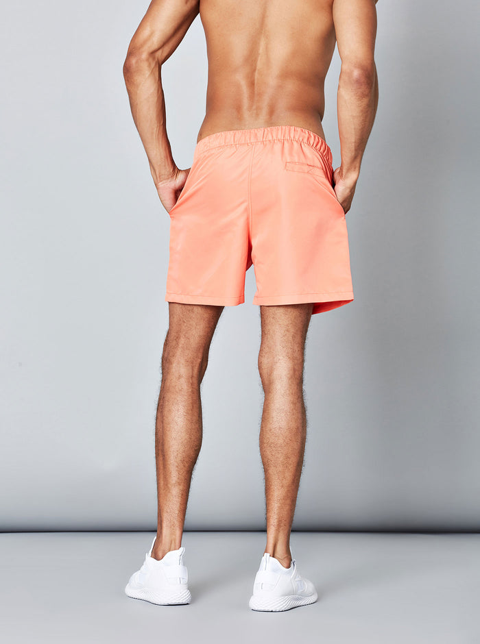 Konan Mens Swim Short Salmon