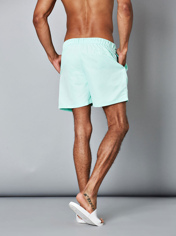 Konan Mens Swim Short Green