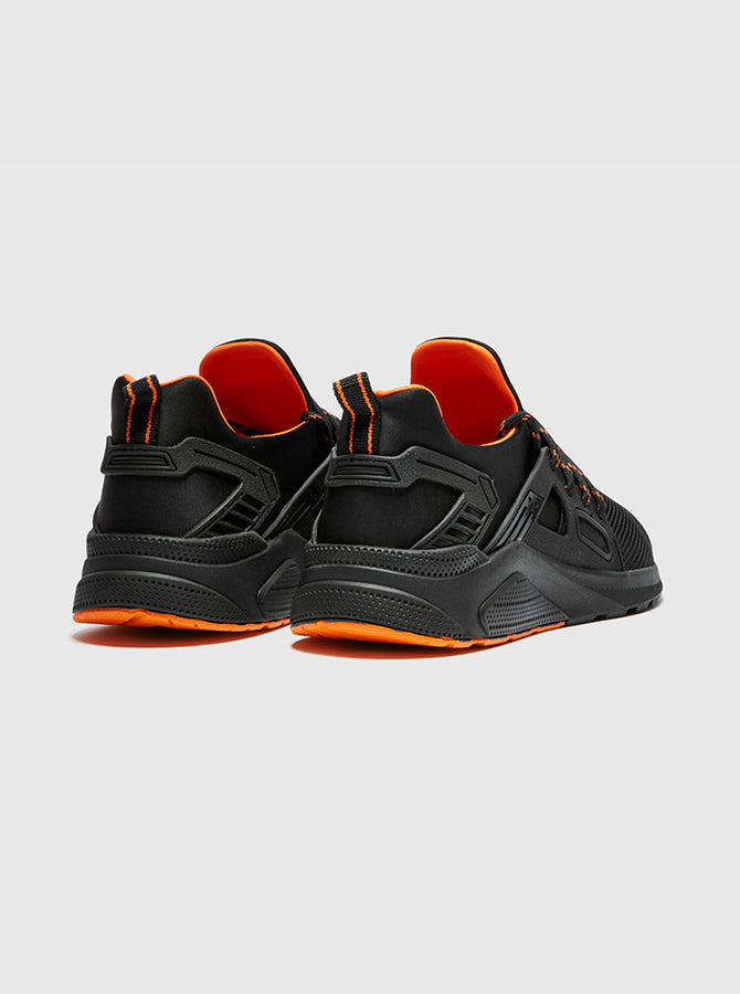 CT 8000 Mens Trainer Black-Orange
