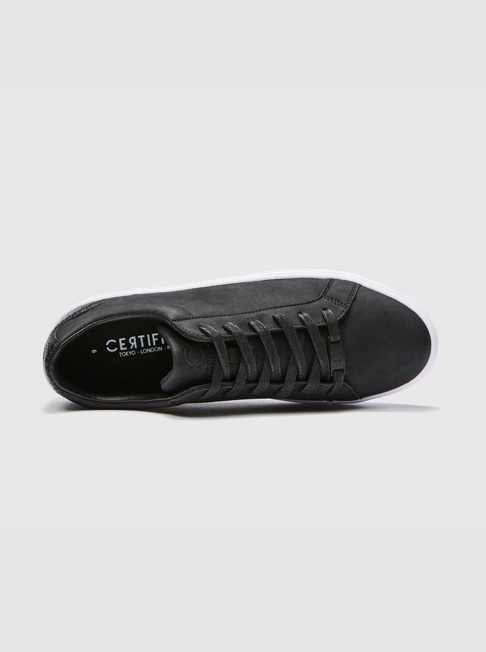 Jonas Mens Cupsole Trainer Black