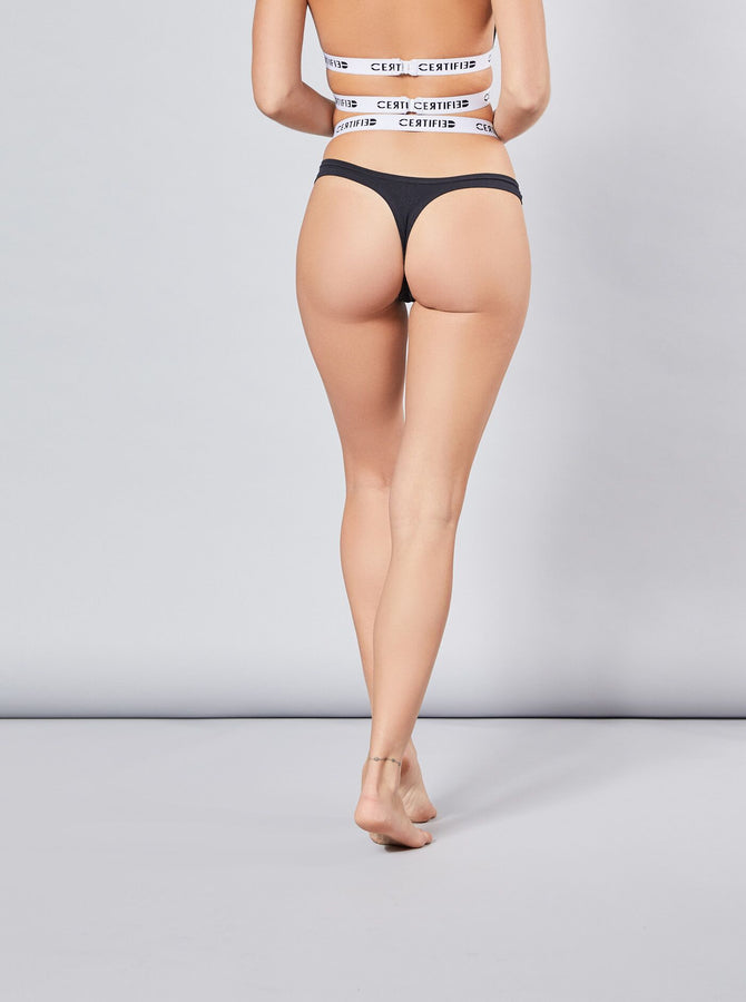 Koto Womens Thong Black