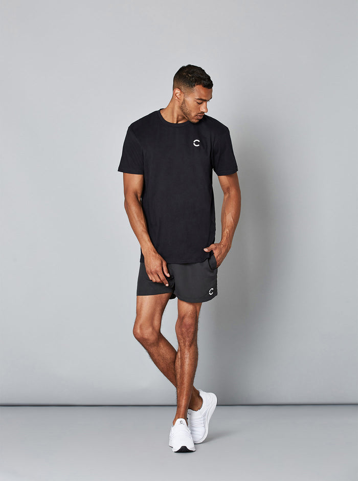 TAITO Mens Tee Black