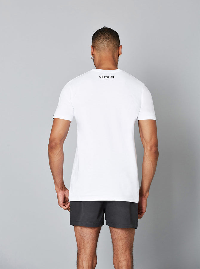 Toshima Mens T-Shirt White