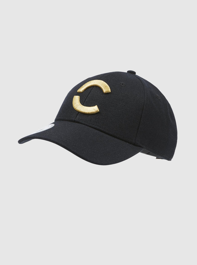Akio Cap Black-Gold