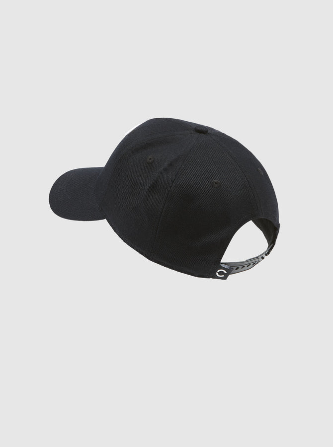 Akio Cap Black-White