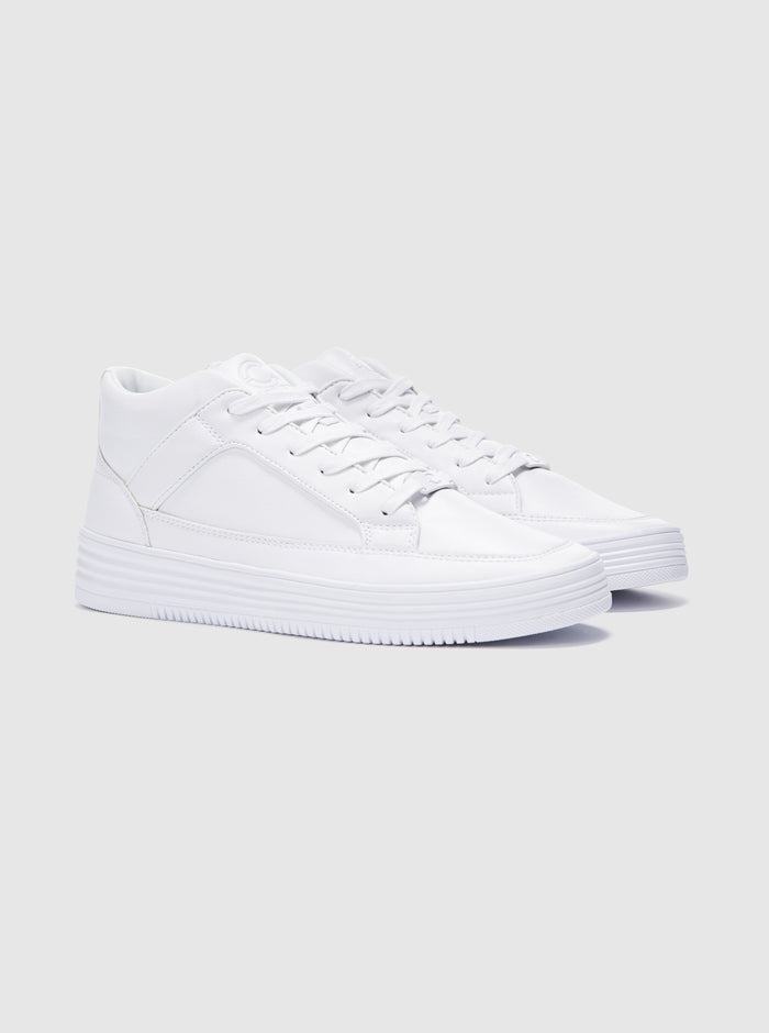 Blanco Mens Cupsole Trainer White