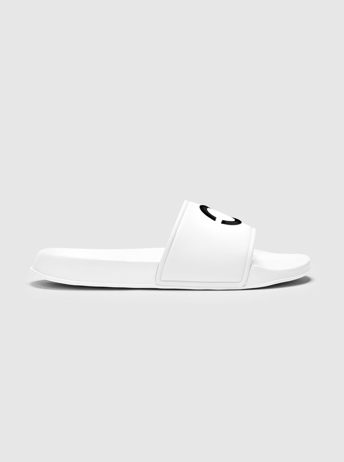 Palmero Mens Sliders White
