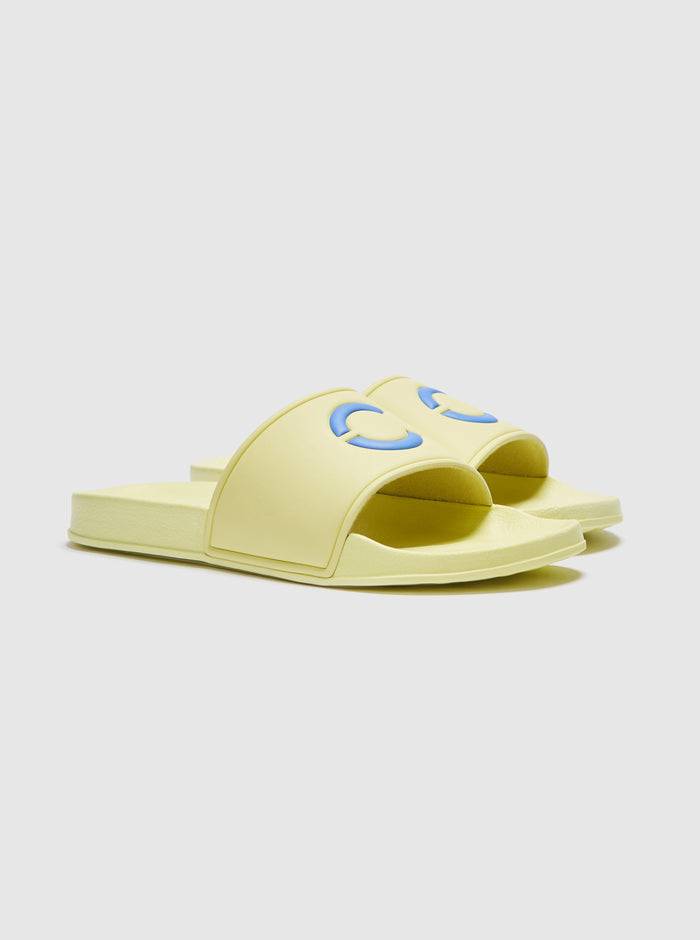 Palmero Slide Yellow-Blue