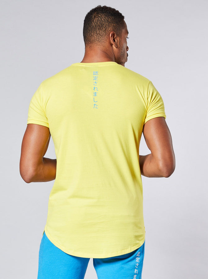 Noda Mens T-Shirt Yellow