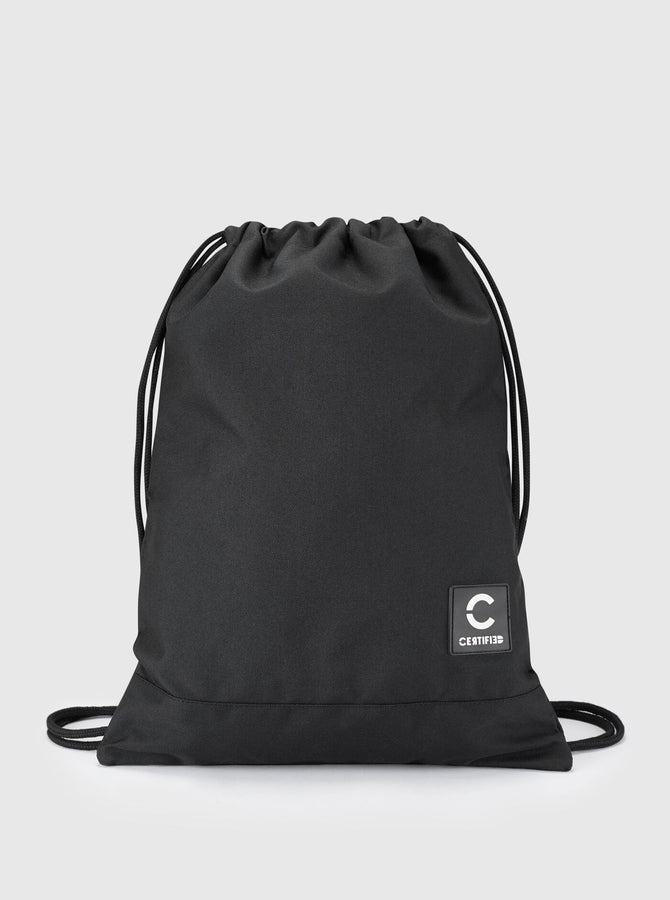 Avan Drawstring Bag Black