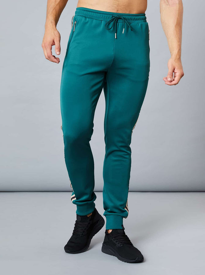 Chikuma Mens Track Pant Dark Green