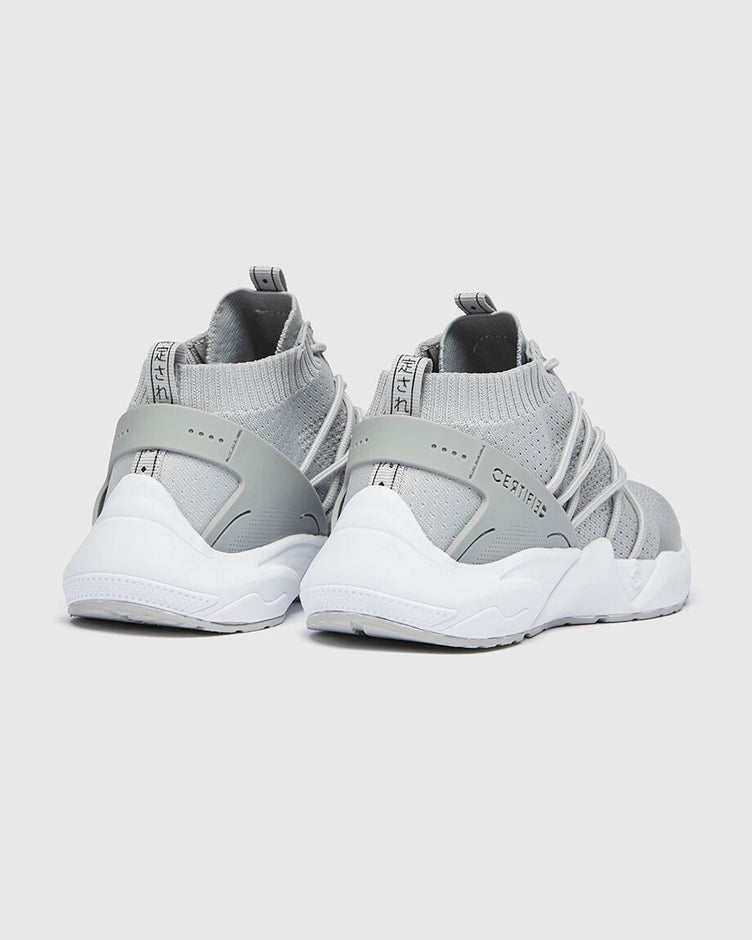 CT 182 Mens Trainer Grey-White