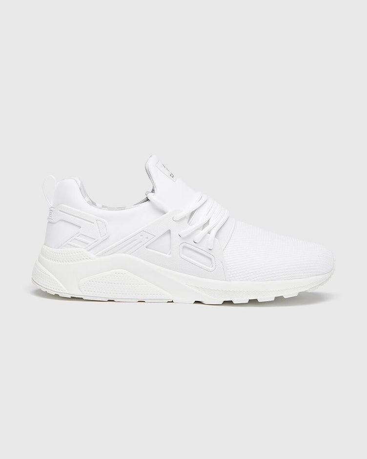 CT 8000 Mens White Mono Runner