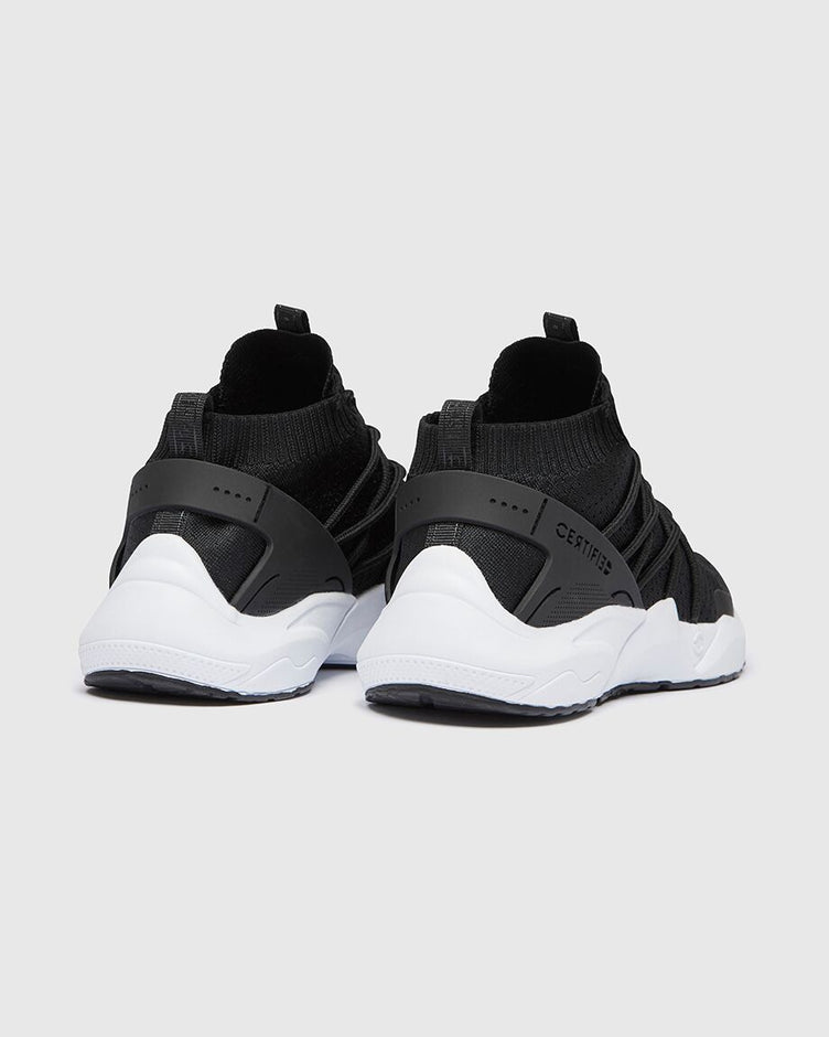 CT 182 Mens Trainer Black-White