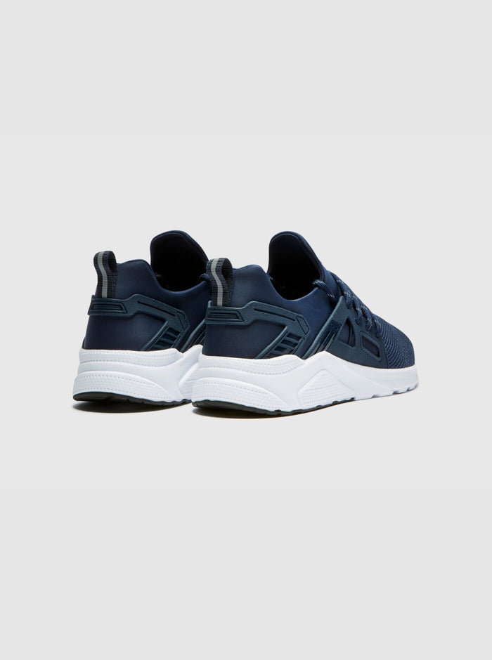 CT 8000 Mens Trainer Navy-White