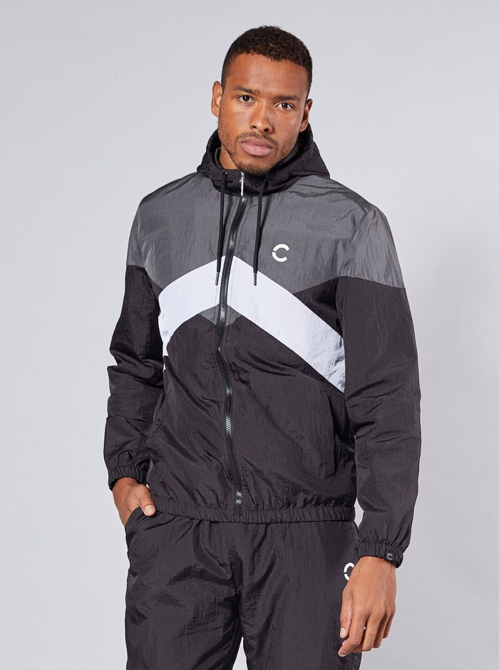 Hitachi Mens Track Top Black