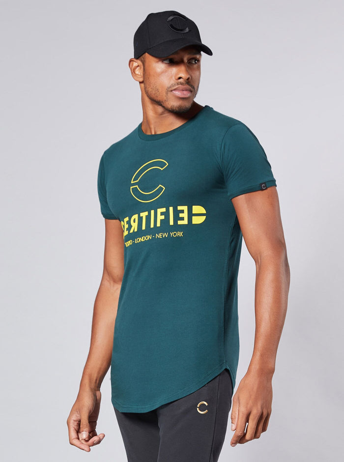 Itaka Mens T-Shirt Green