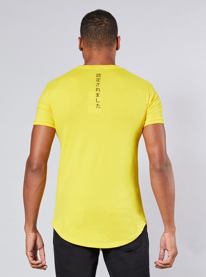 Itaka Mens T-Shirt Yellow