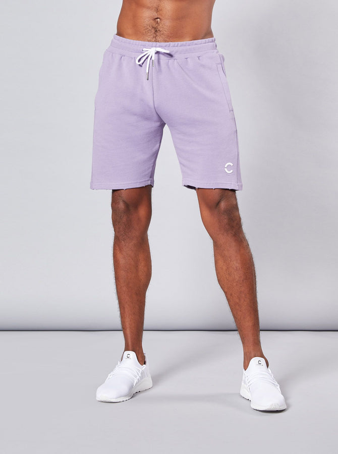 Kasuno Mens Shorts Purple