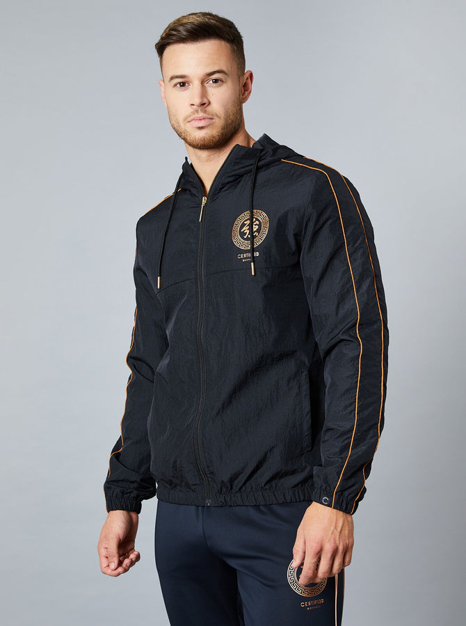 Kofu Mens Windrunner Jacket Black