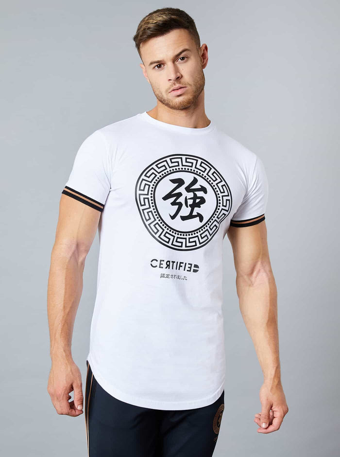 Muroto Mens T-Shirt White