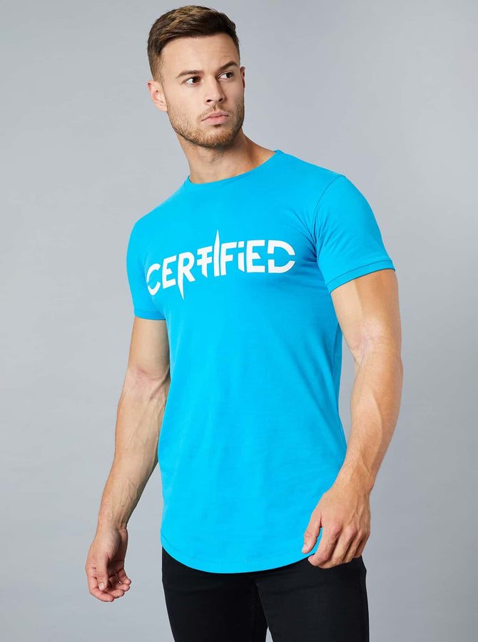 Noda Mens T-Shirt Blue