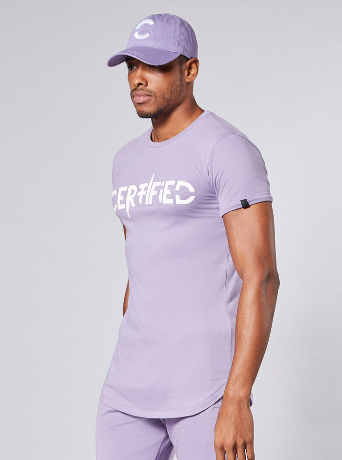 Noda Mens T-Shirt Purple