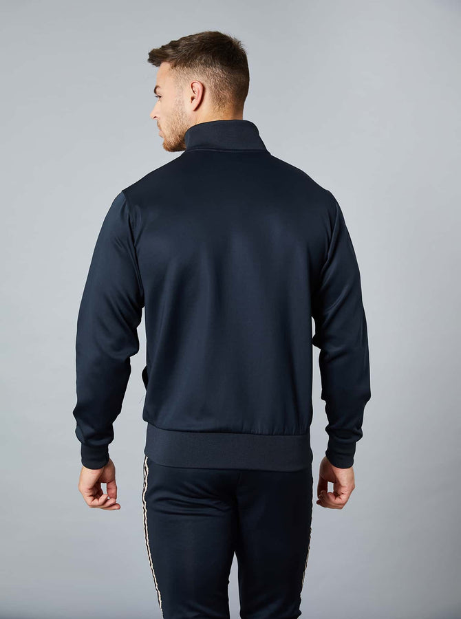 Osaki Mens Track Top Black