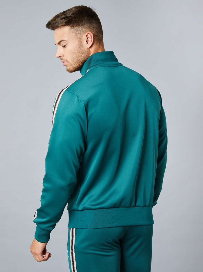 Osaki Mens Track Top Dark Green