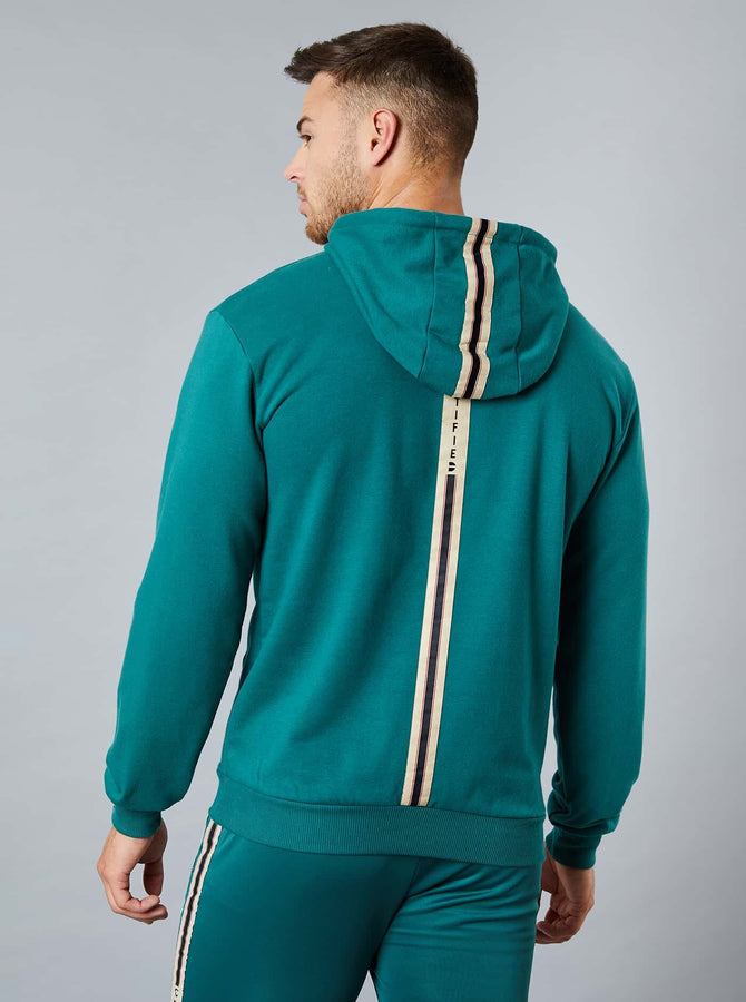 Saku Mens Overhead Hoody Dark Green