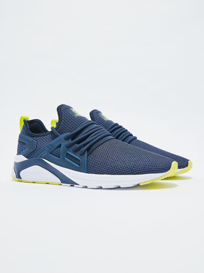 CT 8000 Mens Trainer Navy/Lime